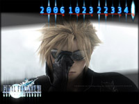 Final Fantasy VII: Advent Children screensaver