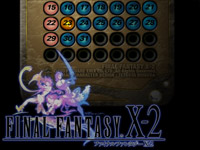 Final Fantasy X-2 Calendar screensaver
