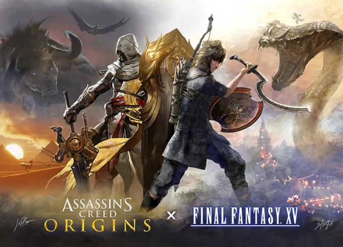 Assassin's Creed and Final Fantasy XV