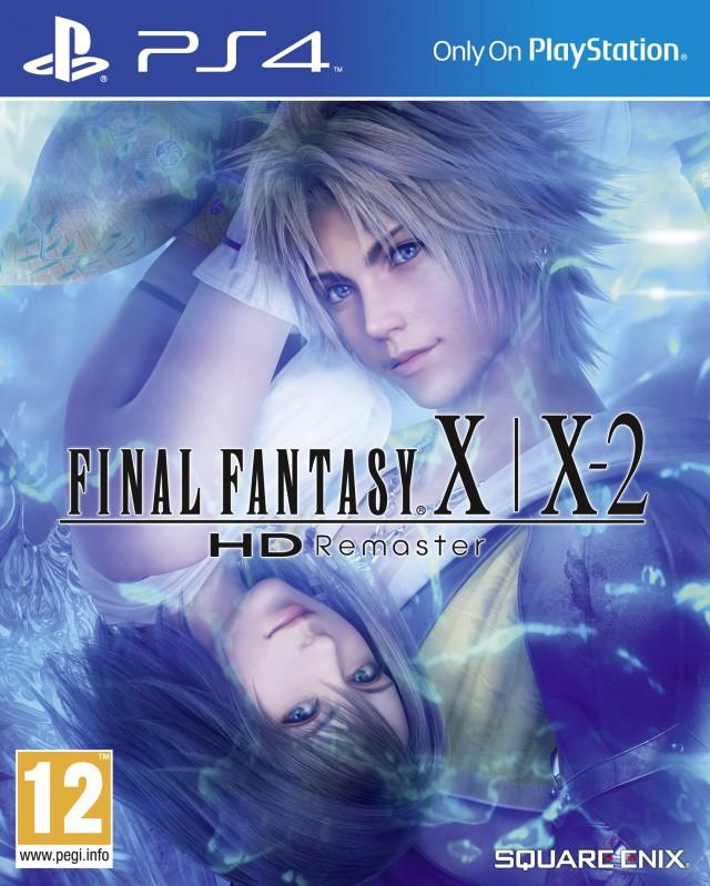 Final Fantasy X/X-2 HD Remaster PlayStation 4 box