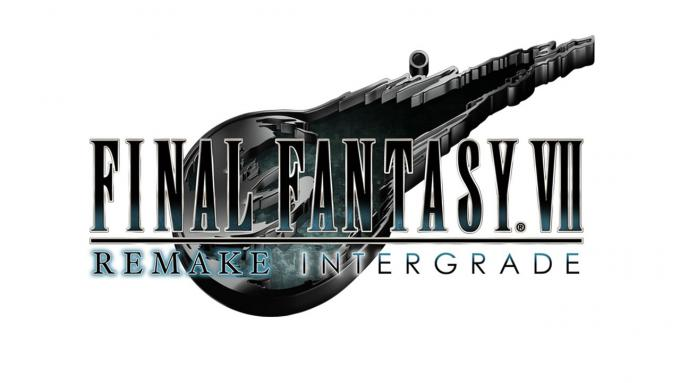 Final Fantasy VII Remake Intergrade logo