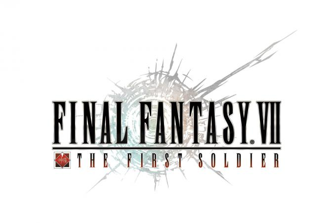 Final Fantasy VII: The First Soldier logo