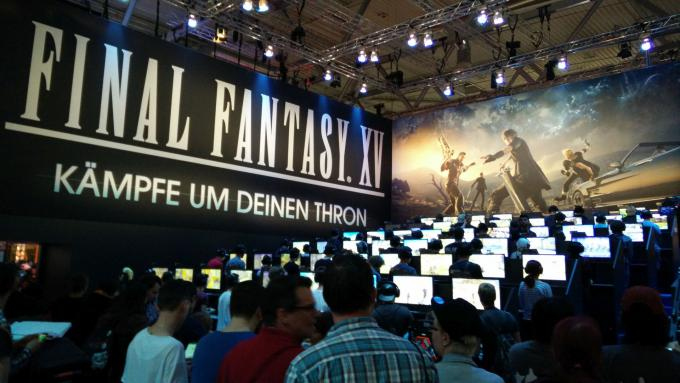 Final Fantasy XV at gamescom 2016