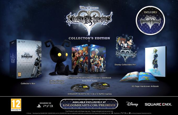 Kingdom Hearts HD 2.5 ReMIX collector's editon