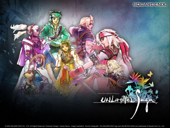 Unlimited Saga wallpaper
