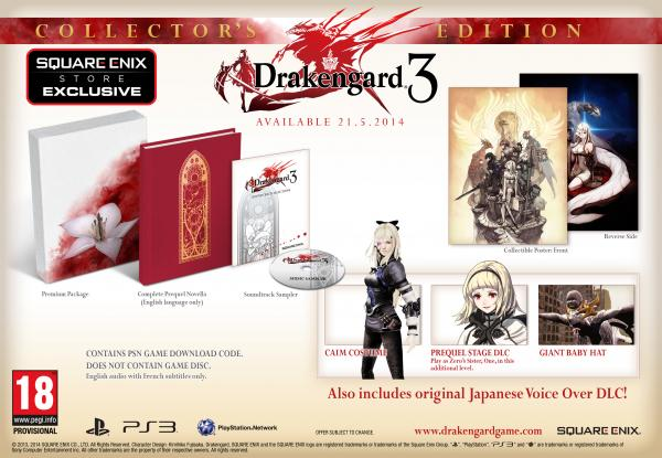 Drakengard 3 Collector's Edition Europe