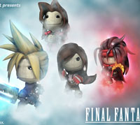 LittleBigPlanet 2 Final Fantasy VII character customes 1