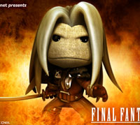 LittleBigPlanet 2 Final Fantasy VII character customes 2