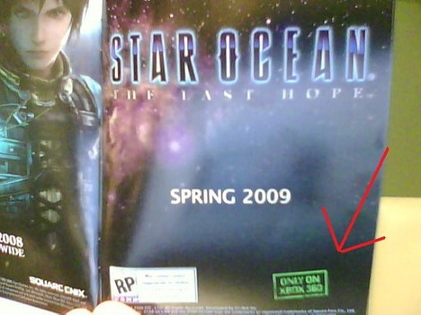 Star Ocean: The Last Hope only on Xbox 360