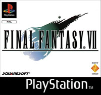 Final Fantasy VII European front cover