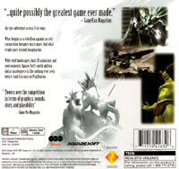 Final Fantasy VII United States back cover