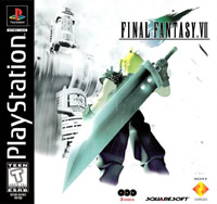 Final Fantasy VII United States front cover