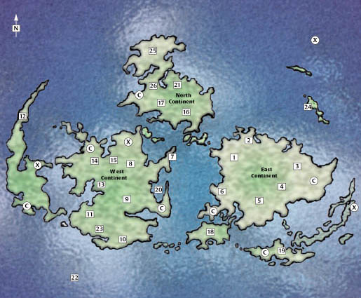 Hell And Heaven Net Final Fantasy Vii World Map