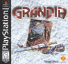 Grandia United States PlayStation front cover